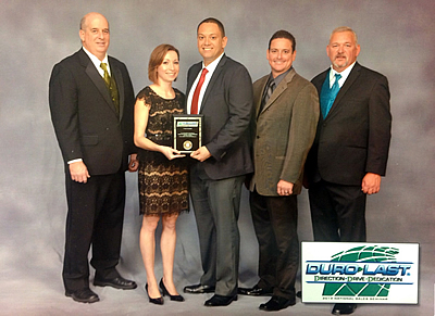 2013 Duro Last Century Club Award
