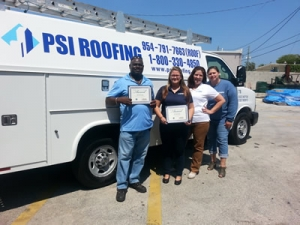 Our Team is here to serve. roof repair services, psi roof repair in broward county FL