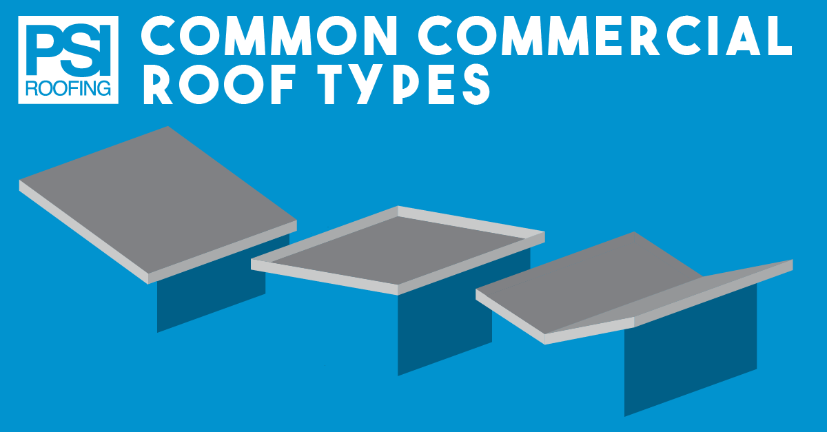 Common Commercial Roof Types