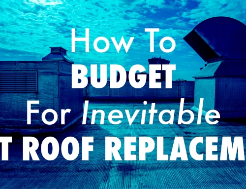 How To Budget For Inevitable Flat Roof Replacement