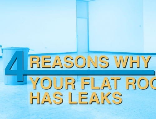 4 Reasons Why Your Flat Roof Has Leaks