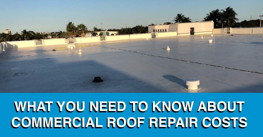 What You Need To Know About Commercial Roof Repair Costs