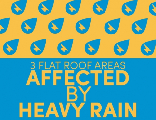 3 Flat Roof Areas Affected By Heavy Rain
