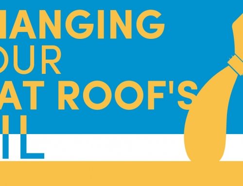 Changing Your Flat Roof's Oil