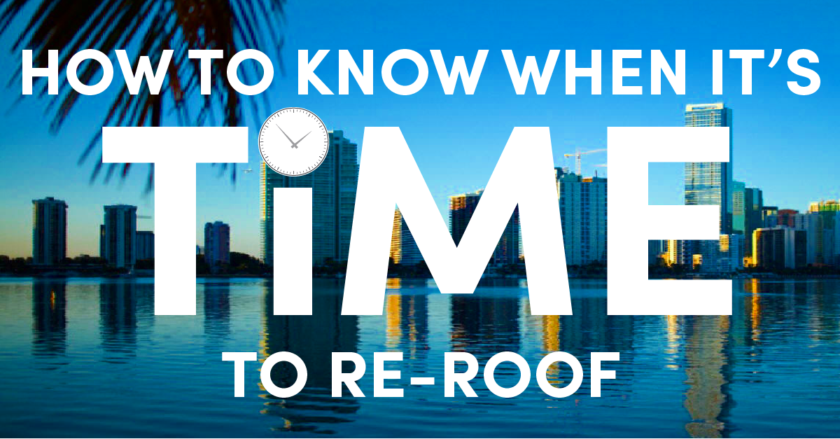 How to Know When It's Time to Re-roof