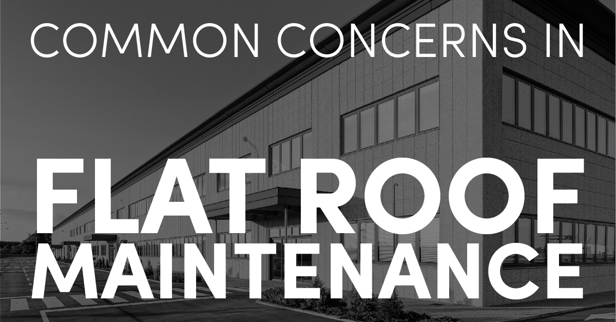 Common Concerns in Flat Roof Maintenance