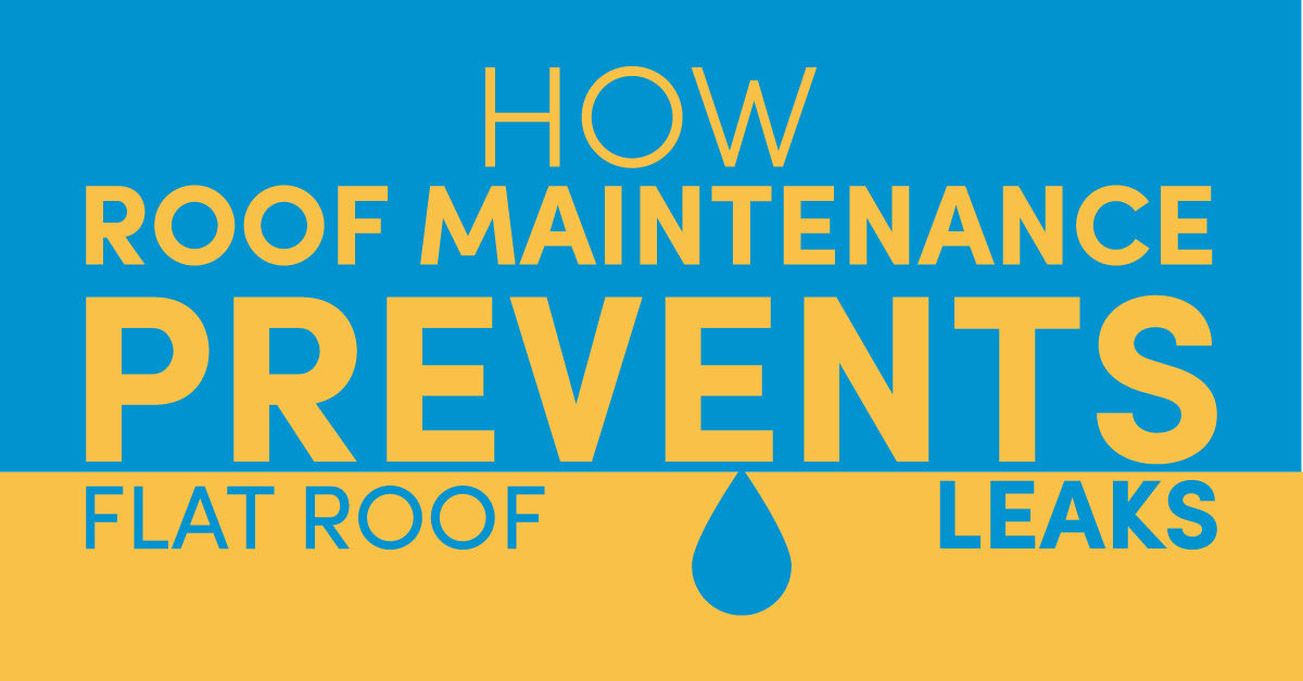 How Roof Maintenance Prevents Flat Roof Leaks