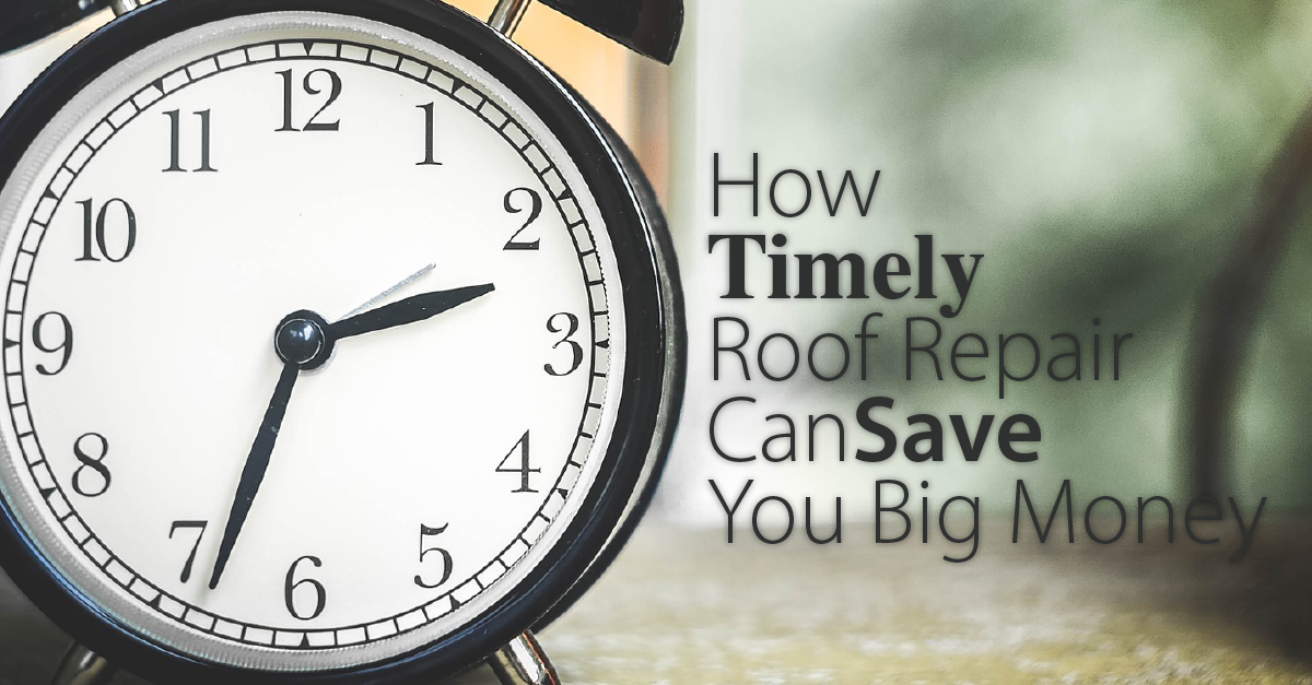 How Timely Roof Repair Can Save You Big Money