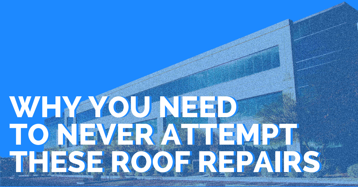 Why You Need to Never Attempt These Roof Repairs