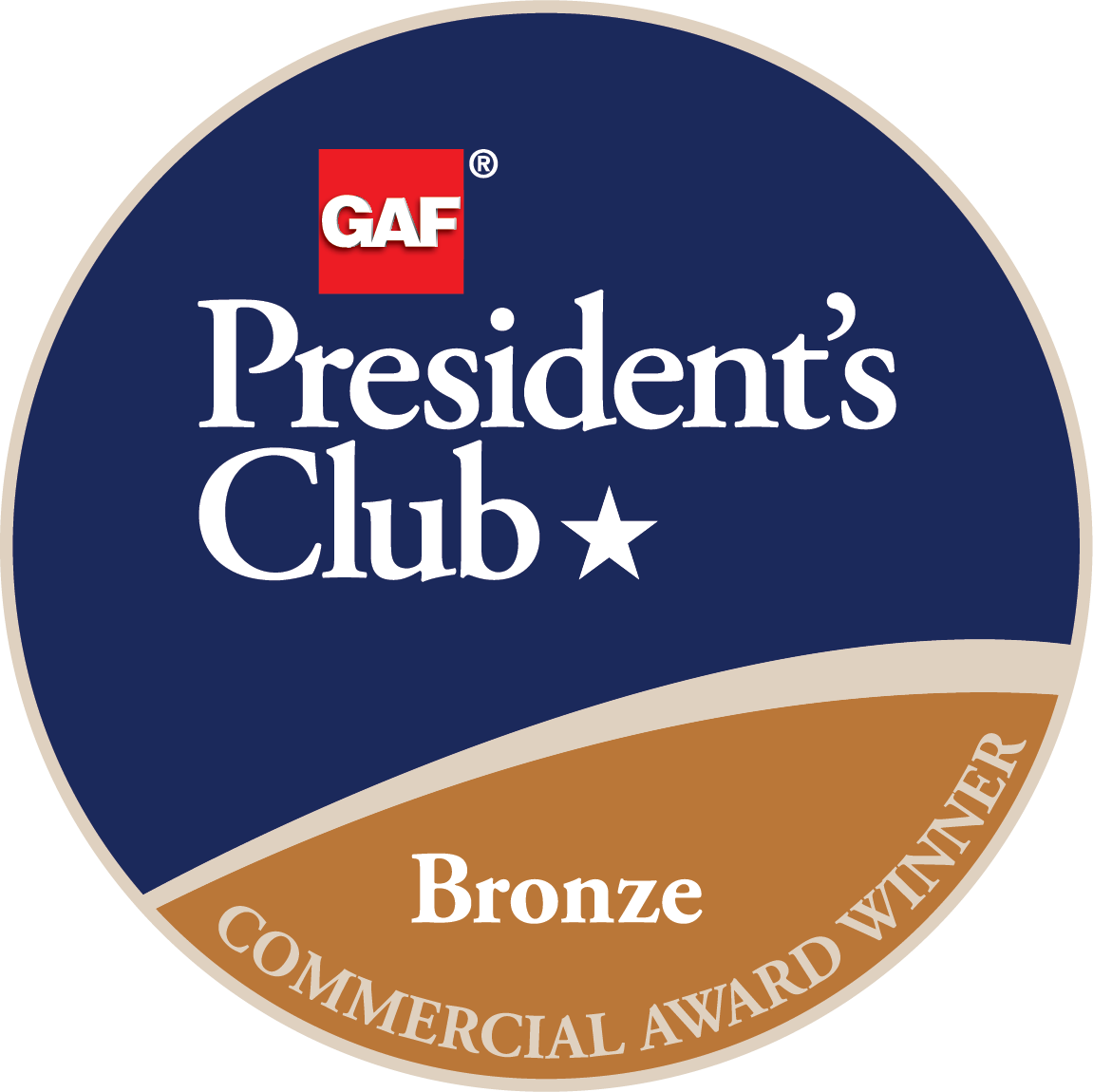 commerical-presidents-club-award-bronze