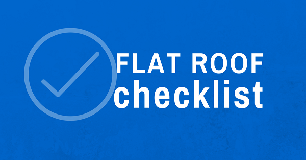 flat roof installation checklist