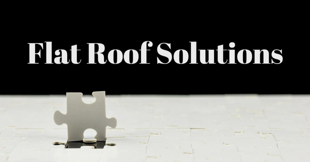 flat roof repair solutions